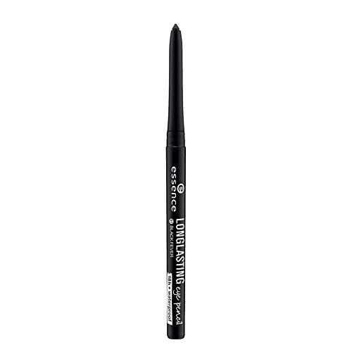 essence long lasting eye pencil 01 black fever - 1er Pack