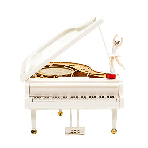 XYHDSM Music Box Piano Music Box Ballet Dancer Piano Ornament Classical Musical Toy Home Room Decoration Kids Gift :S,M,L