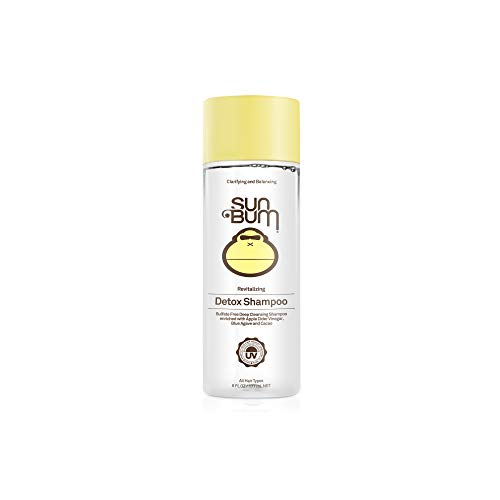 Sun Bum Revitalizing Detox Shampoo | Vegan and Cruelty Free Moisturizing and Deep Cleansing Hair Wash with Apple Cider Vinegar | 6 oz