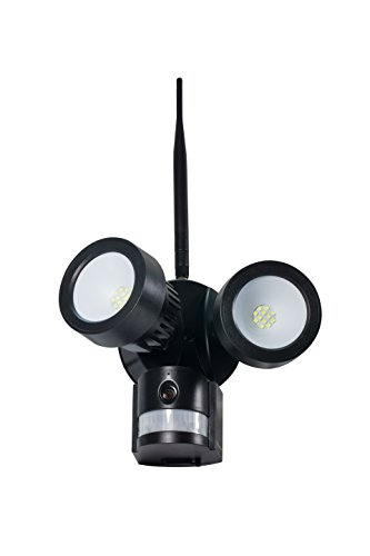 Technaxx IP-Cam HD Outdoor bewakingscamera met LED-schijnwerper TX-83, PIR bewegingsmelder en 2 Way Talk