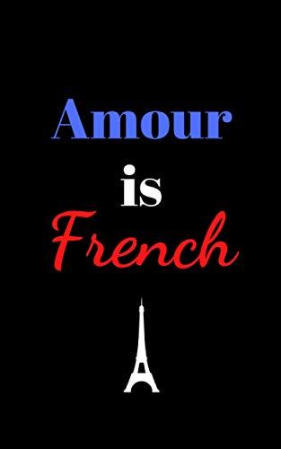 Carnet à message « Amour is French »: cadeau aux couleurs de la France
