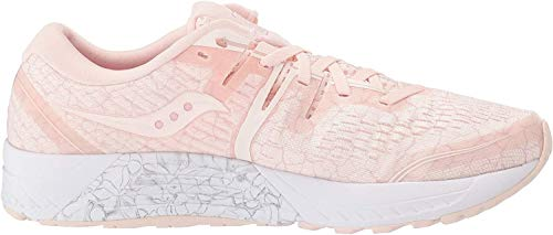 Saucony Women's Guide ISO 2 Running Shoe, Apricot Quakemustard, 9.5 M US
