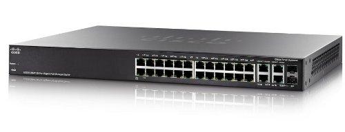 Cisco SG300-28MP-K9-EU Gigabit Ethernet (26 10/100/1000 PoE ports, 2 combo mini-GBIC ports)