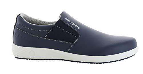 Oxypas Roy Herren Arbeits- und Sicherheitsschuhe | Sneaker, Farbe: Marine, Größe: 39