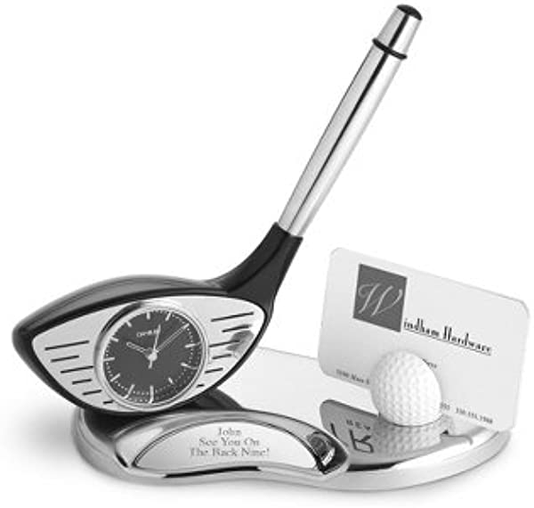 Things Remembered Personalized Golf Desk Set With Engraving Included