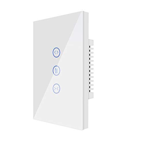 Timer per Tapparelle WiFi, UseeLink Interruttore per Tapparelle, Interruttore di Controllo del Motore Della Porta Intelligente, Funziona con Alexa/Google Home, Telecomando,Nessun Hub Richiesto(1 PCS)