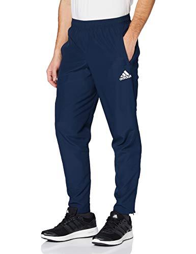 adidas Tiro 17 Woven Pant Pantalón, Hombre, Azul/Blanco (Maruni), M