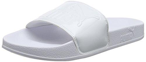 Puma Damen Leadcat Patent WNS Badeschuhe, Weiß White White, 39 EU