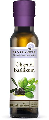 Bio Planete Bio Olivenöl & Basilikum (2 x 100 ml)