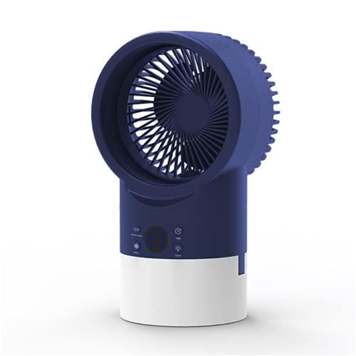 Mini Condizionatore, Condizionatore D aria Portatile, Mini Raffrescatore Evaporativo Con Luce Notturna, Raffreddatore D aria Personale Per L ufficio Domestico, Ventilatore Da Tavolo A 3 Velocità,B