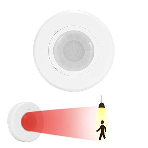 Konesky LED Deckenleuchte mit PIR Bewegungsmelder Unterputz Deckenleuchte Nachtlicht für Flurtreppen