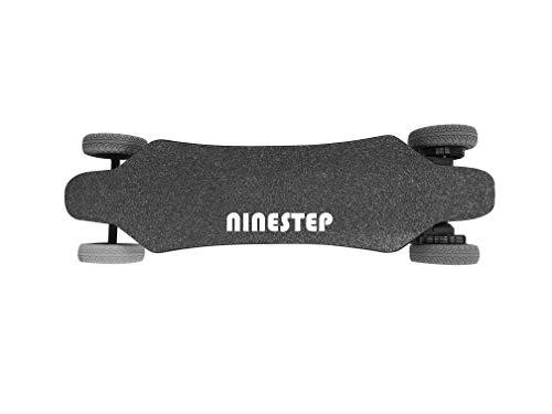 Ninestep 40 km/h Dual-Motor 2000W Hochwertiges Elektro Longboard Offroad 6.6Ah elektrisches Skateboard kabellose Fernbedienung