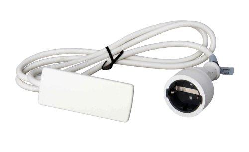 Schulte 151000155300 Evoline Plug Schukostecker weiß
