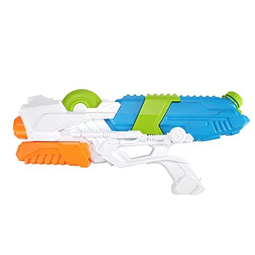 5665 Blaster de Agua de Tamaño Mediano Pistola de Agua de Alta Capacidad Super Water Soaker Blaster Squirt Toy Piscina Playa Arena Juguete de Lucha contra,White