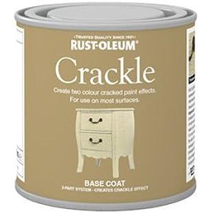 Rust-Oleum Antique Vintage Crackle Effect Base Coat 250ml