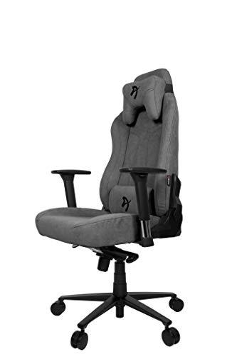 Arozzi Vernazza Soft Fabric Gaming Chair, Ash