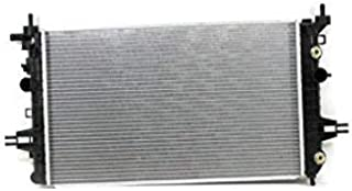 Radiator - Pacific Best Inc For/Fit 13058 08-09 Saturn Astra L4 1.8L Automatic Plastic Tank Aluminum Core