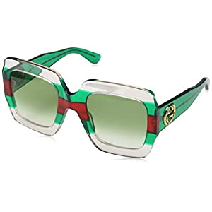 Fashion Shopping Gucci GG 0178 S- 001 MULTICOLOR/GREEN Sunglasses