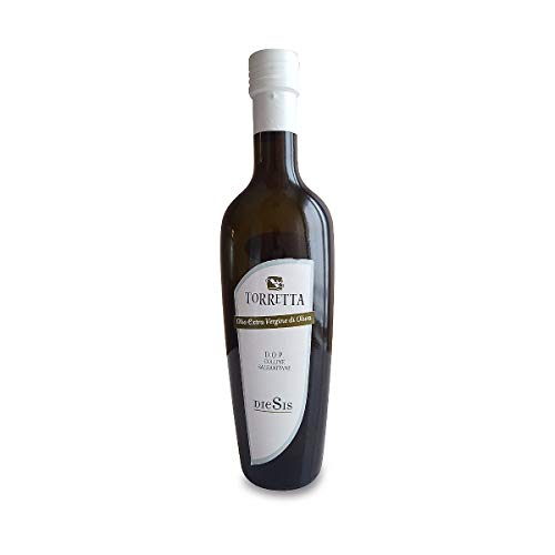 Olio extravergine di oliva Colline Salernitane 'Diesis' - Torretta - Campania - Bottiglia di vetro - ML - Carpellese, Rotondella - DOP