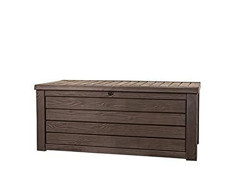 Keter Westwood 570L Outdoor Storage Box-Brow