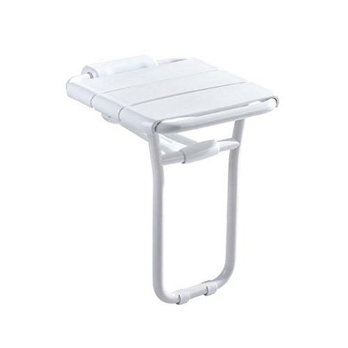 Tabourets Pliables de Douche de Mur Tabouret de siège de Mur d'ABS Tabouret Pliant pour des Personnes âgées/handicapées Tabouret de siège antidérapant avec des Jambes Tabouret dans Max. 120 kg