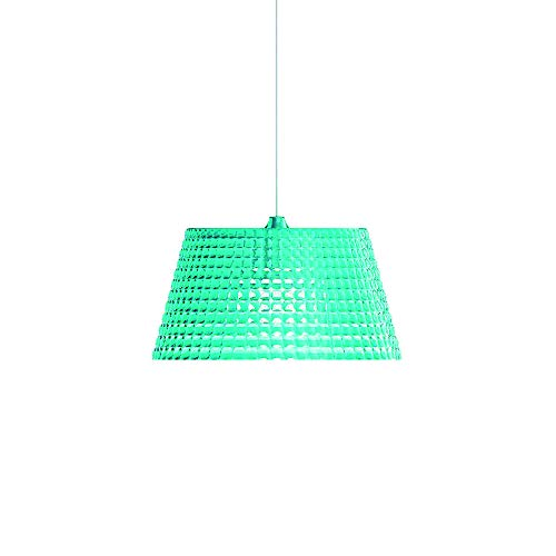 Guzzini Tiffany Lighting Lampada a Sospensione L Ø 42 cm x H 22 cm, Blu