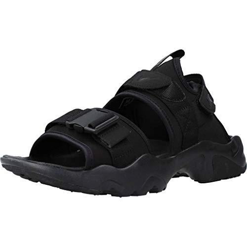 Nike Canyon Sandal, Scarpe da Ginnastica Uomo, Black/Black-Black, 42.5 EU