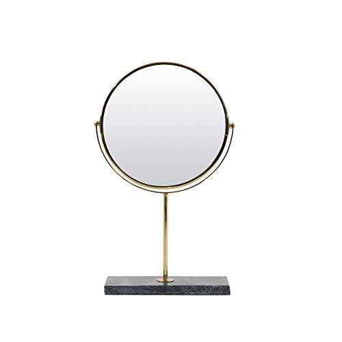Light & Living Spiegel op voet 24x9x40,5 cm RIESCO marmer groen-goud