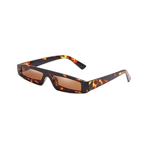 Gbcyp Mode Mannen Vrouwen Rechthoek Zonnebril Unisex Retro Kleine Frame Zonnebril Dames Trendy UV400 Oogkleding Beschermer Bril