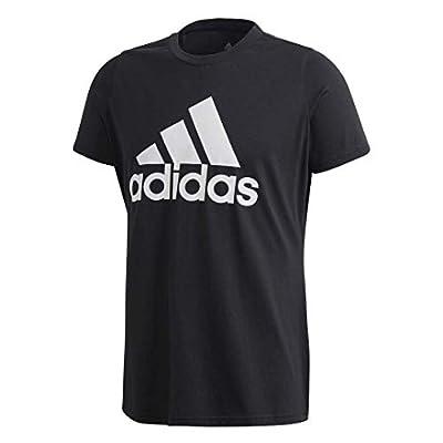 adidas Basic Badge of Sport Tee (Black, Small)