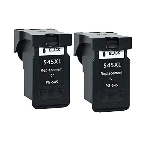 Ink E-Sale Remanufacturado PG-545XL para Cartuchos Canon 545 546 Compatibles con Pixma MG3050 MX495 MX490 MG2500 MG2550 MG2550S iP2800 iP2850 iP2840 MG3053 MG2400 MG2450 MG2900 MG2950 MG3051,2 Negro