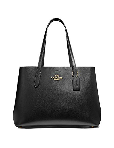 Coach Large Leather Avenue Carryall Tote Purse - #F79988 - Black