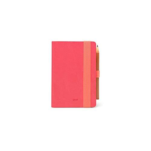 Legami Kalender 2021 Mini Neon Coral 12 Monate