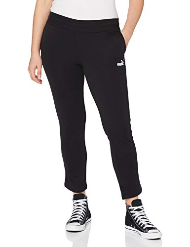 PUMA Damen Hose ESS Sweat Pants TR op, Cotton Black, M, 851829