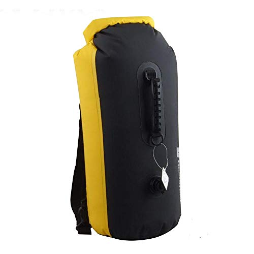 The Best and Yellow 35L Waterproof Drift Dry Backpack Bag #BHTY