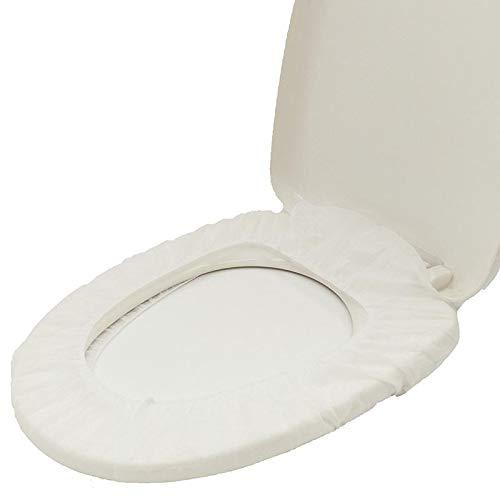 BAOZIV587 Wegwerp Toiletbril Niet-geweven Toiletbril Moederlijke Reizen Huishoudelijke Plak Draagbaar Verdikt Waterdicht Toiletbril, economisch 10 (Koop 20 get 10)