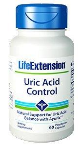 life extension Uric Acid Control 60 Vegetarian Capsules (3)