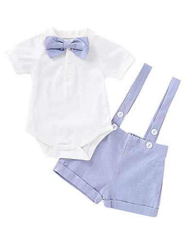 Xuefoo Nursery Time Baby Boys 3 Pack Sleeveless Env Neck Cotton Bodysuit Body Vest Sky Blue 12 18 months White 3 6 Months