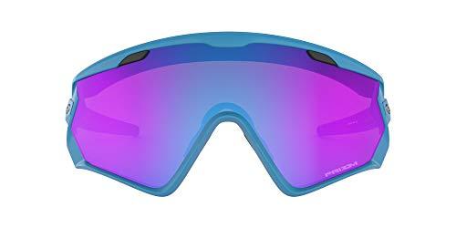 Oakley Wind Jacket 2.0 Gafas de sol, Azul, 1 para Hombre