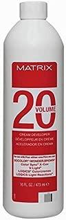 20 volume Cream Developer 16 oz / 473 ml
