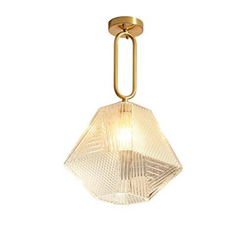 TVDCC LED lámpara de la lámpara moderna Iluminación for el hogar Lámparas cubierta de oro de la lámpara de la lámpara Cafe Bar lámpara