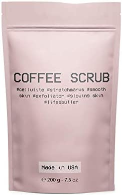 Life s Butter Exfoliating Natural Arabica Coffee Scrub effective against Cellulite Stretch Marks product image