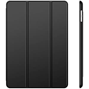 JETech Funda para iPad (9,7 Pulgadas 2018/2017 Modelo), Carcasa con Soporte Función, Auto-Sueño/Estela, Negro