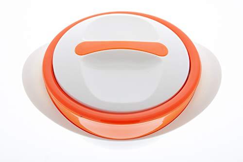 Schulz-Haushaltwaren 1,0 Liter Thermobehälter Thermoschüssel Isolierschüssel Isolierbehälter Thermogeschirr Heiß & Kalt