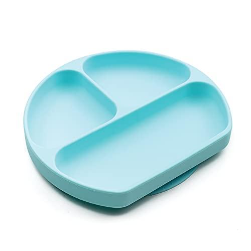 Bumkins Silikon-Teller, sicherer Stand GD-BLU Blau