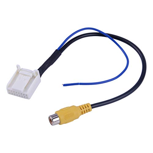 CITALL Adaptateur de câble de Navigation vidéo pour caméra de recul caméra arrière DVD