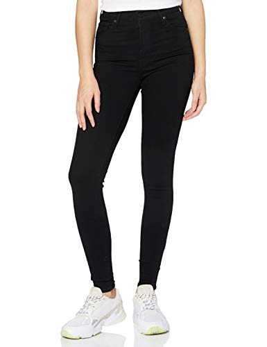 Levi's Women's Mile High Super Skinny Skinny Skinny Jeans, Black (Black...
