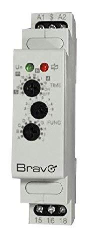 エレクトリックフレームDIN用多機能タイマー12-240 V BRAVO 93003221