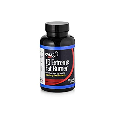 T6 Extreme Fat Burner - Weight Loss Diet Pills - Appetite Suppressant & Fat Burner for Women and Men 2 Month Supply by GYM GUY