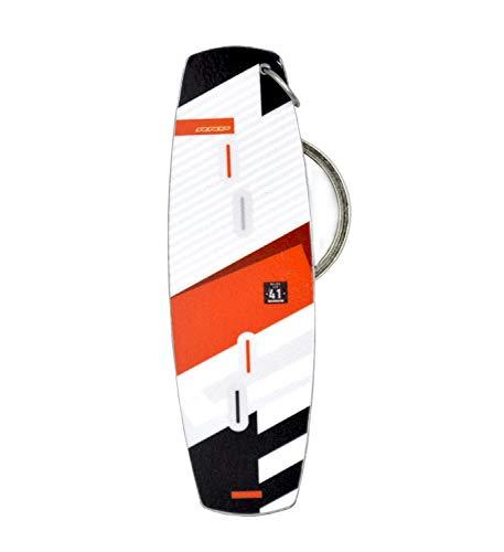 Fresh Kitesurfing Portachiavi Kiteboard in Metallo Portachiavi Reale Kite Board | Portachiavi...